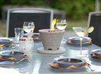 Schmelzfeuer Outdoor Granicium - Die windsichere Gartenfackel zum Kerzen-Recyceln - SFG