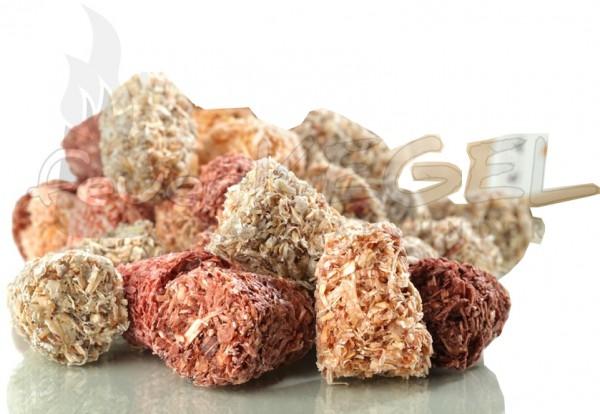 Feuerkegel Anzünder für Ofen, Grill, Kamin oder Feuerschale 5kg lose im Karton