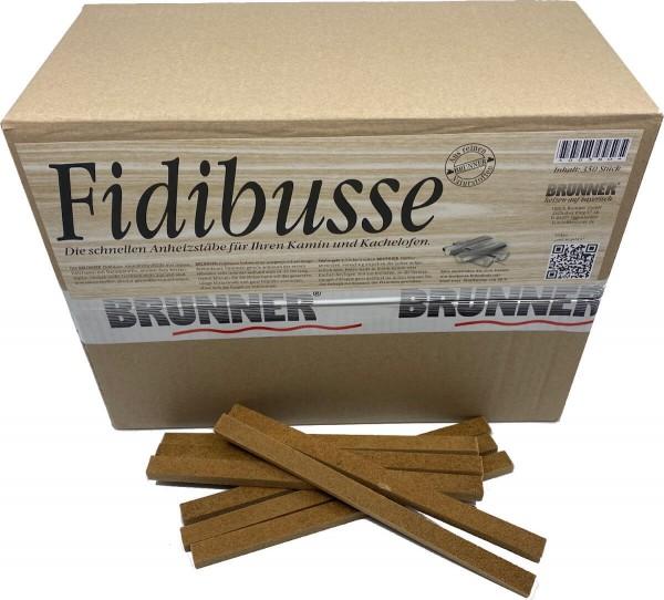 350 Original Brunner Fidibusse Anzünder ~ 1x Großpackung