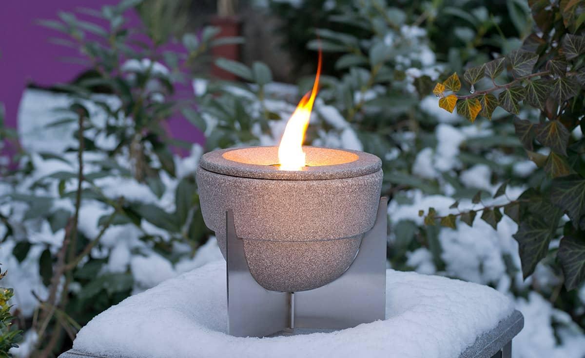 Turbo Schmelzfeuer Outdoor - stimmungsvolle Lichtquelle für Garten und RU67