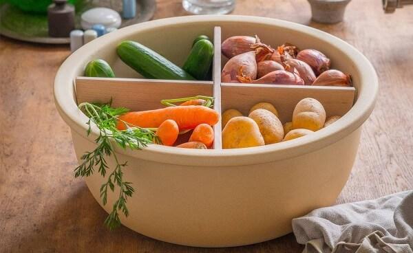 Lagertopf für Gemüse und Obst aus CeraNatur® Keramik - DLT