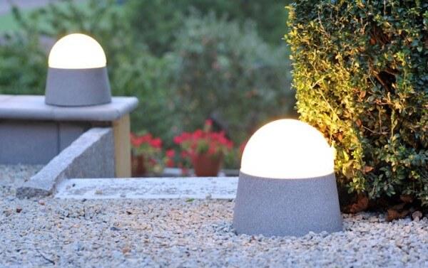 Mobiles Licht Luxor Granicium® mit eingebauter Steckdose - LX-GR