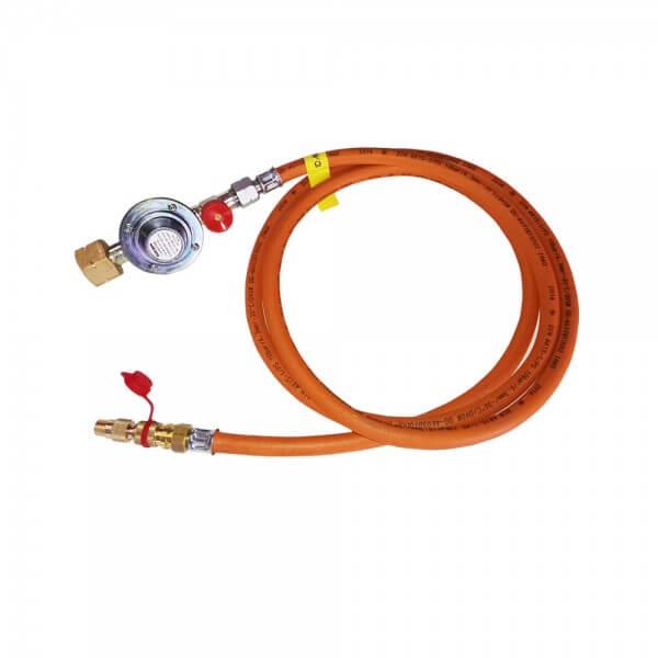 2m Adapter Set für COBB Premier Gasgrill zum Anschluss auf 5kg - 11kg - 33kg Gasflasche (CG2000)