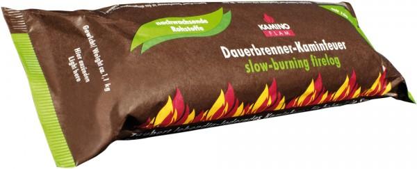 1x Dauerbrenner Kaminfeuerscheit 100 % nachwasende Rohstoffe aus Palmöl