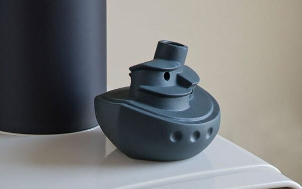 Dampfer Wasserverdunster - anthrazit matt - Wohlfühlklima durch richtige Luftfeuchtigkeit - DASA