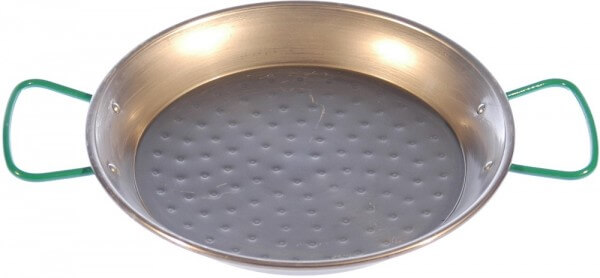 Bio - Stahlpfanne mit Pfannenhaltern für das Zwergenfeuer - ZF-PK