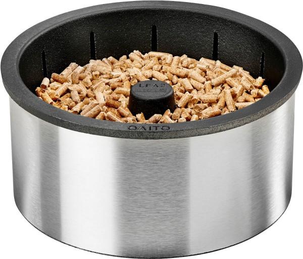 Pellet Brenner Q10 für Kamin und Holzofen für kleine Kamine