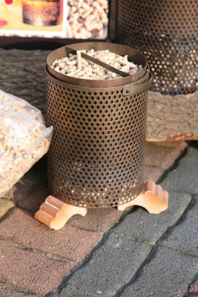 Pellet-Brenner TPP 20 für Kamin, Outdoor & Camping das Original aus Finland inkl. 15kg Holzpellets