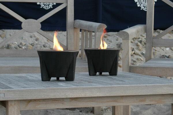Schmelzfeuer Outdoor CeraLava® - Die windsichere Gartenfackel zum Kerzen-Recyceln - SFC