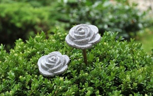 Rosalie - Dekorative Rose aus Granicium® für Innen und Außen - ein Geschenk für sich und andere - ROS
