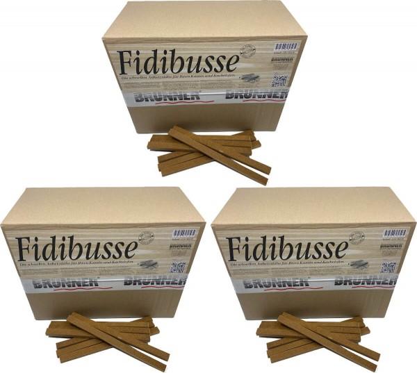 1050 Original Brunner Fidibusse Anzünder ~ 3x Großpackung
