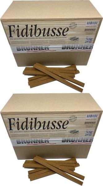 700 Original Brunner Fidibusse Anzünder ~ 2x Großpackung